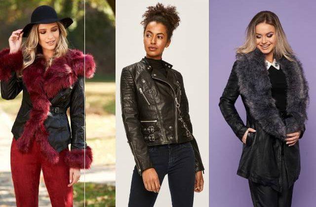 geci de piele la moda online